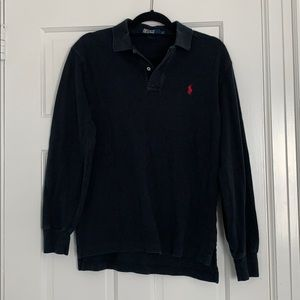 Black Polo long sleeve